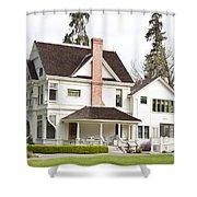 Patterson House Ardenwood Historic Farm Shower Curtain