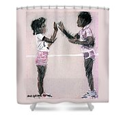 Patti Kake Shower Curtain