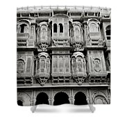 Patwon Haveli Shower Curtain