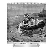 Paul And Florence Dombey Shower Curtain