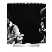 Paul And Mick Are Bad Company Shower Curtain