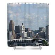 Paul Brown Stadium Shower Curtain