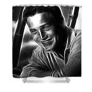 Paul Newman Shower Curtain