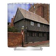 Paul Revere House Shower Curtain by David Davis