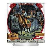 Paul Reveres Ride Shower Curtain