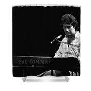 Paul At The Keyboard In Spokane 1977 Shower Curtain