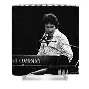 Bad Company Live In Spokane 1977 Shower Curtain