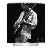 Paul On Guitar 1977 In Spokane Shower Curtain