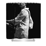 Paul On The Burnin Sky Tour 1977 Spokane Shower Curtain