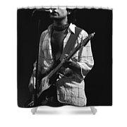 Paul Rocks Spokane 1977 Shower Curtain