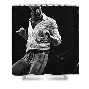 Paul Rocks Steady In Spokane In 1977 Shower Curtain