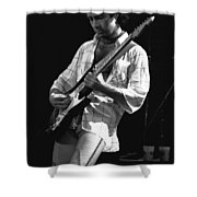 Paul Showing His Love To The Spokane Crowd In 1977 Shower Curtain