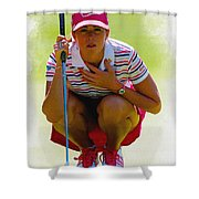 Paula Creamer - Safeway Classic  Shower Curtain