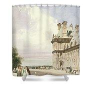 Pavilion De Flore, Tuileries, Paris Shower Curtain