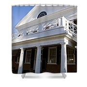 Pavillion Vi University Of Virginia Shower Curtain