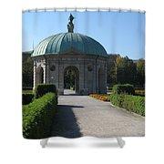 Pavilion Residence Garden - Munich Shower Curtain