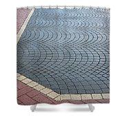 Paving Bricks Shower Curtain