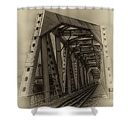 Paving The Way Forward Shower Curtain