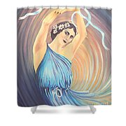Pavlova Shower Curtain
