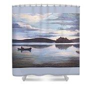 Payette Lake Idaho Shower Curtain