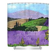 Pays De Sault Shower Curtain