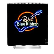 Pbr Guitar Shower Curtain