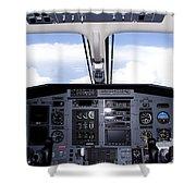 Pc 12 Cockpit Shower Curtain
