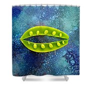 Pea Pod Shower Curtain