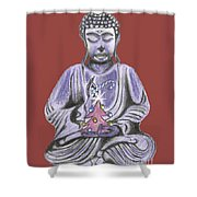 Peace And Goodwill Two Shower Curtain