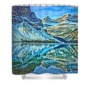 Peace At Bow Lake Shower Curtain