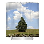 Peace At Manassas Shower Curtain