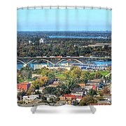 Peace Bridge Autumn 2013 Shower Curtain