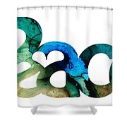 Peace Full 13 Shower Curtain