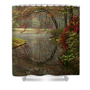 Peace In A Garden Shower Curtain