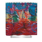Peace In Chaos Shower Curtain