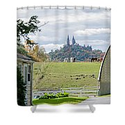 Peace In The Country  Shower Curtain