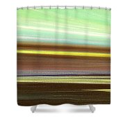 Peace Is Colorful - Panoramic View Shower Curtain