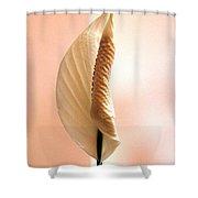 Peace Lily Awakening Shower Curtain