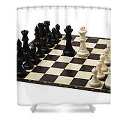 Peace Negotiations At The Summit Level - Featured 3 Shower Curtain