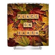 Peace On Earth-autumn Shower Curtain