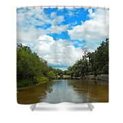 Peace River 4 Shower Curtain
