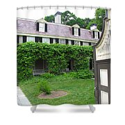Peacefield The Old House Shower Curtain
