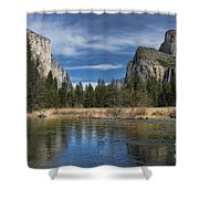 Peaceful Afternoon In Yosemite Shower Curtain