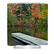 Peaceful Autumn Day Shower Curtain