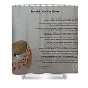 Peaceful Calm The Shores 2 Shower Curtain