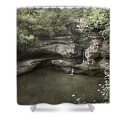 Peaceful Contemplation Shower Curtain