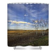 Peaceful Countryside Shower Curtain