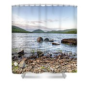Peaceful Early Morning At Eagle Lake Shower Curtain