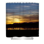 Peaceful Endings Shower Curtain