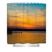 Peaceful Hues Shower Curtain